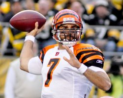 Bengals Bruce Gradkowski Takes Over as Quarterback in Pittsburgh