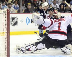 Devils Defeat Penguinbs 3-1in Pittsburgh