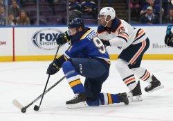 St. Louis Blues Vladimir Tarasenko and Edmonton Oilers Darnell Nurse