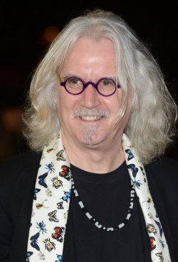 """Billy Connolly attends the Gala Screening of """"Quartet"""" in London."""