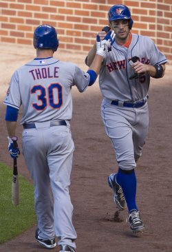 Mets Wright Scores Winning Run in Denver