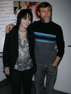 Todd Oldham and Joan Jett arrive for the Susan Sarandon Picture Show After Party in New York