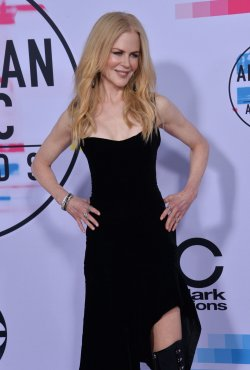 Nicole Kidman attends the annual 2017 American Music Awards in Los Angeles