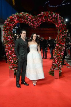 The UK premiere of 'A New York Winter's Tale' in London