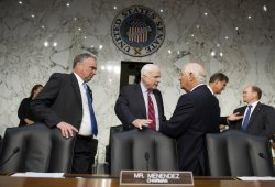 Senate Foreign Relations Committee hearing on Syria in Washington, D.C.