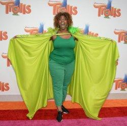"GloZell Green attends the ""Trolls"" premiere in Los Angeles"
