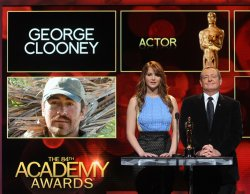 Jennifer Lawrence and Tom Sherak announce the nominations for the 84th Academy Awards in Beverly Hills