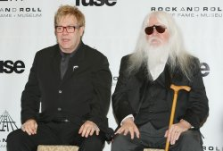 Leon Russell inducted into the Rock and Roll Hall of Fame in New York