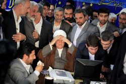 Day five of registration of hopefuls for Iran presidential election