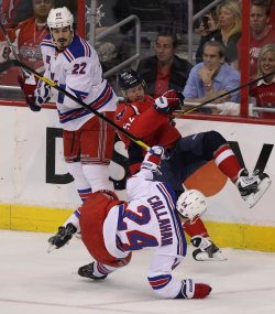 New York Rangers vs. Washington Capitals in game 6 of the NHL Eastern Conference Semifinals in Washington