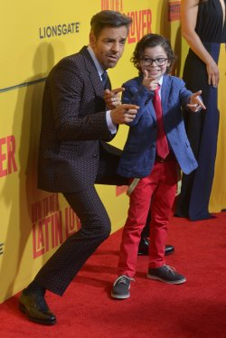 "Eugenio Derbez and Raphael Alejandro attend the ""How to Be a Latin Lover"" premiere in Los Angeles"