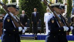 Def. Sec. Gates retires at Pentagon in Virginia
