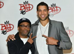 Spike Lee and Landry Fields attend 'Bad 25' after party at the Toronto International Film Festival