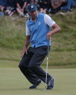 Matt Kuchar on Final Day at the Open Championship at Royal Birkdale 2017