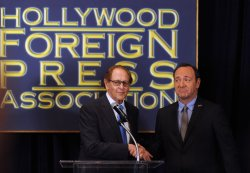 Kevin Spacey announces Robert DeNiro to be honored at 68th Golden Globe Awards in Beverly Hills