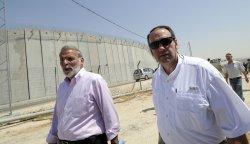 Former Arkansas Governor Mike Huckabee visits Jerusalem