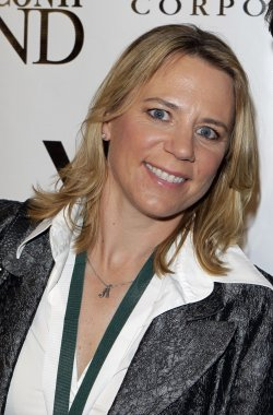 Annika Sorenstam at the Buoniconti Fund Dinner to Cure Paralysis at the Waldorf Astoria in New York