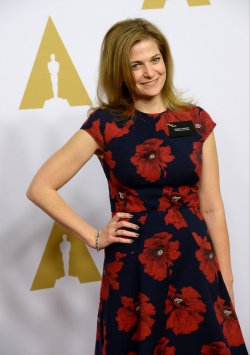 Andrea Berloff attends the Oscar nominees luncheon in Beverly Hills