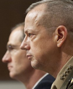 Senate Armed Services Committee holds a hearing on Afghanistan in Washington