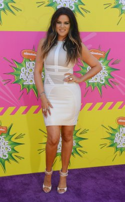 Khloe Kardashian attends the 2013 Nickelodeon Kids' Choice Awards in Los Angeles