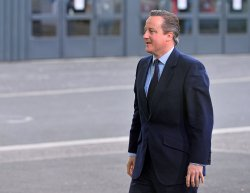 David Cameron Arrives at Opening of UN Climate Summit Near Paris