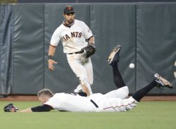 San Francisco Giants vs Cincinnati Reds in San Francisco National League Division Series