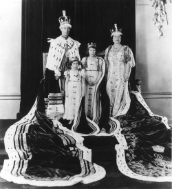 The Coronation of George VI to King of England in 1937