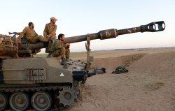 Israeli Soldiers Near Gaza Border