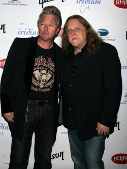 "Warren Haynes and Brian Setzer arrive for ""A Celebration of Les Paul"" concert in New York"
