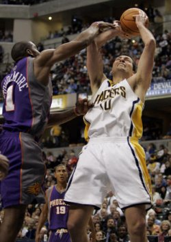 PHOENIX SUNS VS INDIANA PACERS