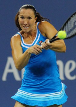Jelena Jankovic vs Na Li at the U.S. Open in New York