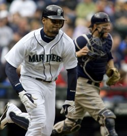 Seattle Mariners' Franklin Gutierrez in Seattle