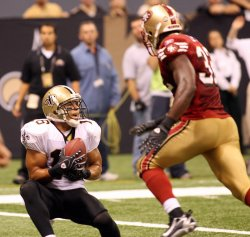 NFL Football New Orleans Saints vs San Francisco 49ers