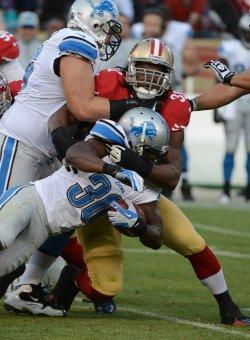 San Francisco 49ers vs Detroit Lions in San Francisco