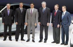 Ford Executives at the 2011 NAIAS in Detroit, MI.
