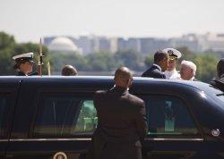 Obama Attends Secretary Gates' Farewell Ceremony at the Pentagon