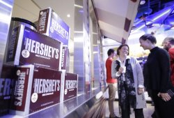 Hershey's Chocolate World Attraction in Times Square