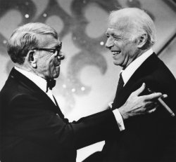 George Burns and Billy Lorraine reunite on television