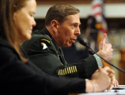 Gen. Petraeus testifies on Afghanistan situation in Washington