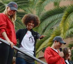 Stacy Keibler, Halle Berry and Mario Lopez participate in 19th annual Revlon Run/Walk for Women in Los Angeles