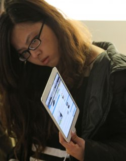 Apple launches iPad mini in Paris