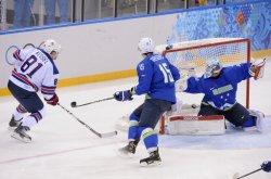 Slovenia vs USA at Sochi 2014 Winter Olympics