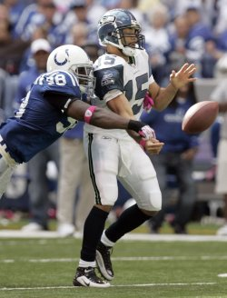 Colts Mathis Forces Seahawks Wallace Fumble