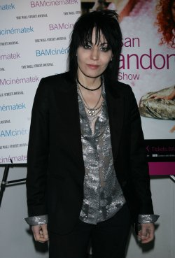 Joan Jett arrives for the Susan Sarandon Picture Show After Party in New York