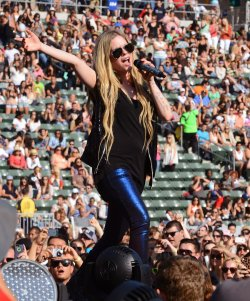 Avril Lavigne performs at KIIS FM's Wango Tango 2013 in Carson, California