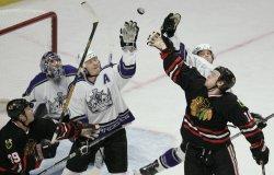 NHL LOS ANGELES KINGS VS CHICAGO BLACKHAWKS