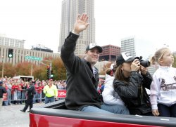 St. Louis Cardinals celebrate World Championship with parade and ceremony at Busch Stadium