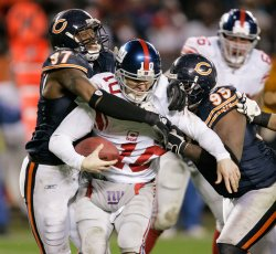 NFL Football New York Giants vs Chicago Bears