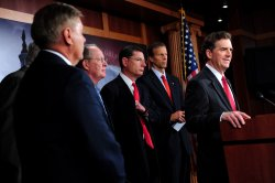 GOP Senators speak on the National Labor Relations Board and job growth in Washington