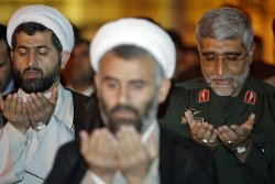 Commander of Iran's Islamic Revolutionary Guard Corps Speaks in Tehran